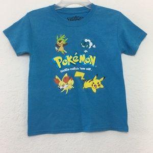 ✅Boys Pokémon Shirt size M-8